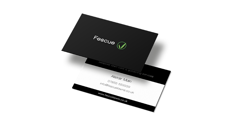 Fescue business cards