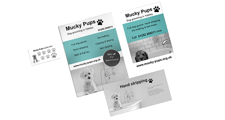 Mucky Pups marketing material