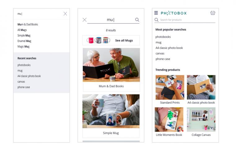 Photobox Search