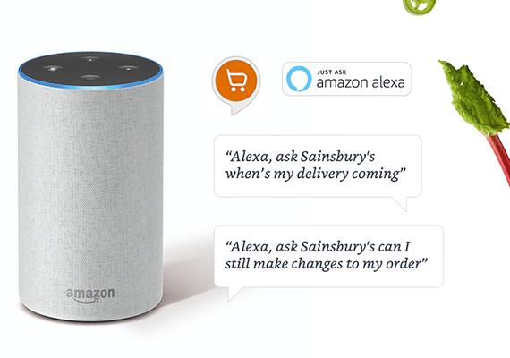 Sainsbury's Alexa Skill